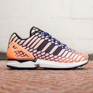 Adidas ZX Torsion Flux Orange/Glow/Navy